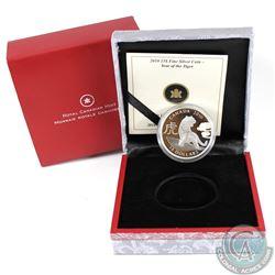 2010 Canada $15 Zodiac Year of the Tiger Fine Silver Coin (No Tax)