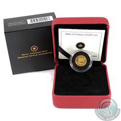 2008 Canada 50-cent de Havilland Beaver 1/25oz Gold Coin (Tax Exempt)