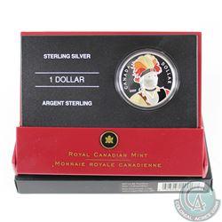2007 Canada Thayendanegea Enamelled Proof Sterling Silver Dollar.