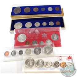 Estate Lot of 1967 Canada Centennial 6-coin Year Sets. You will receive 5x 1967 Year Sets in a Varie