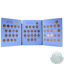 1920-1972 Canada 1-cent Collection in Blue Whitman Folder. You will receive 1 of each date between 1