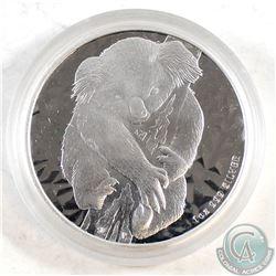 2007 Australia $1 Koala Fine Silver Coin encapsulated (Tax Exempt)