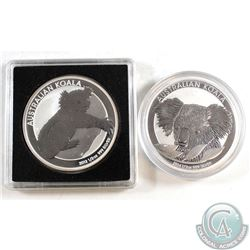 2012 & 2014 Australia 50-cent Koala 1/2oz Fine Silver Coins (Tax Exempt). Please note the coins may