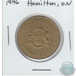 1946 City of Hamilton, Ontario Centennial Celebration Token. 28mm