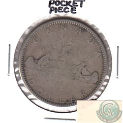 Canada Silver Dollar Pocket Piece.  Very Cool!
