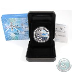 2014 1 oz Australian Wandering Albatross Fine Silver Proof Coin (Tax Exempt)