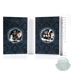 2013 Niue Sherlock Holmes 2-coin 1oz .999 Fine Silver Set (TAX Exempt)