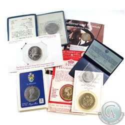 Estate Lot of Miscellaneous World Coinage: 1970 Pope Paul VI Visit to the Philippines 1 Pesos, 1984