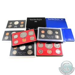 Estate Lot of United States Proof Sets. The dates you will receive are: 3x 1968, 1971, 1976, 1977, 1