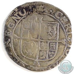 Charles I 1625-1649 Great Britain Shilling with Informational display card