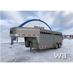 2003 SOUTHLAND T/A 5TH WHEEL STOCK TRAILER