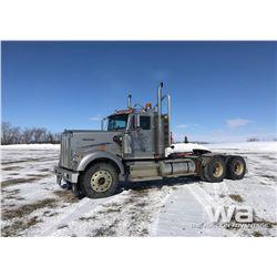 1987 KENWORTH W900B T/A TRUCK