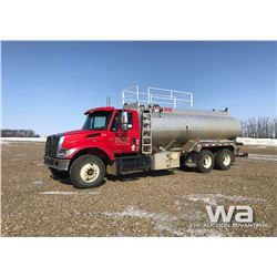 2006 IHC 7400 T/A WATER TRUCK