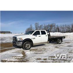 2013 DODGE 5500 CREW CAB TRUCK