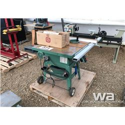 """GENERAL 10"""" TABLE SAW"""