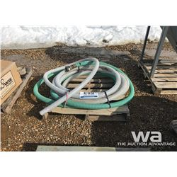 "PALLET OF 2"" SUCTION HOSE"