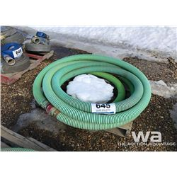 "PALLET OF 3"" SUCTION HOSE"