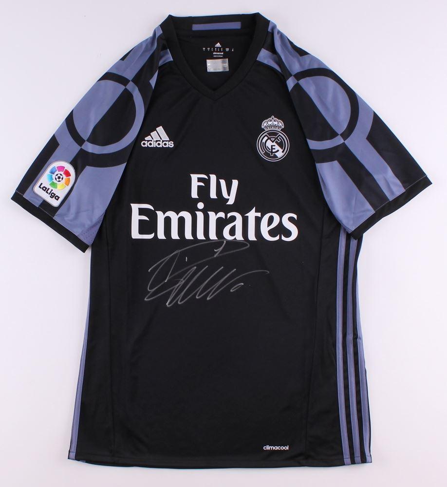 Cristiano Ronaldo Signed Real Madrid Jersey Icons Coa