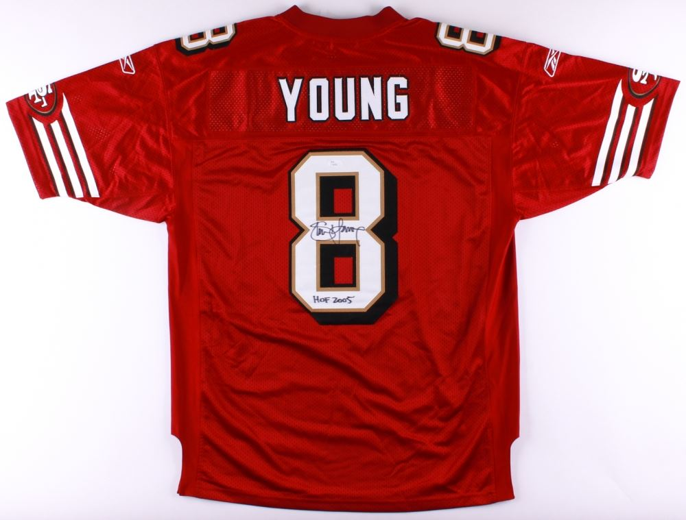 cheap for discount 1ccee bb59c Steve Young Signed Authentic On-Field 49ers Jersey Inscribed