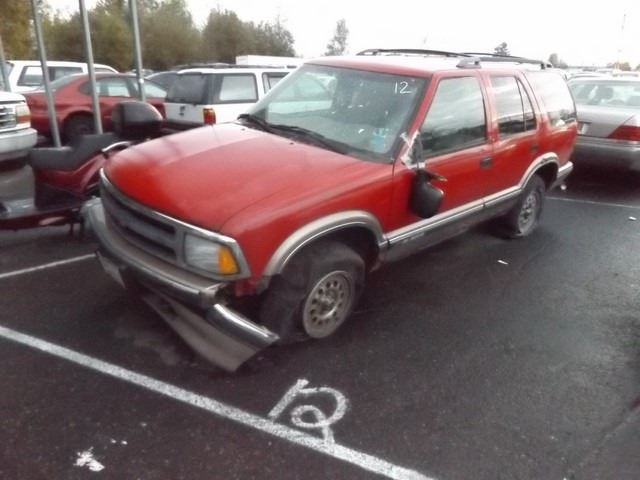 28+ 1996 Chevy Blazer Red