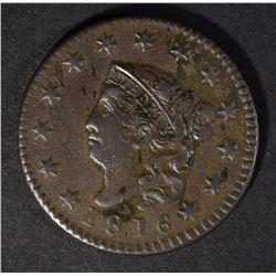 1816 LARGE CENT, VF