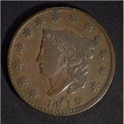 1819 LARGE CENT, VG