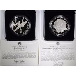 2011 ARMY & 2012 INFANTRY SOLDIER PROOF