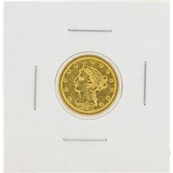 1851-O $2 1/2 Liberty Head Quarter Eagle Gold Coin