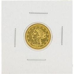 1851-O $2 1/2 Liberty Head Quarter Eagle Gold Coin