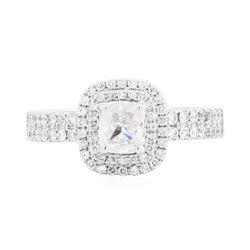 14KT White Gold 1.45ctw Diamond Ring