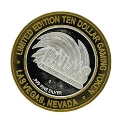 .999 Silver Palms Casino Resort Las Vegas, NV $10 Limited Edition Casino Gaming