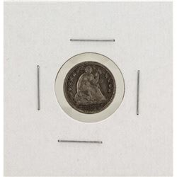 1853 Seated Liberty Half Dime Silver Coin