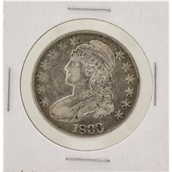 1833 Capped Bust Half Dollar Silver Coin