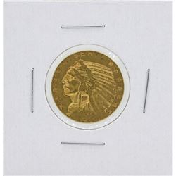 1911-S $5 Indian Head Half Eagle Gold Coin