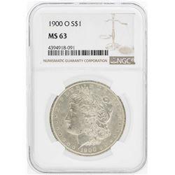 1900-O $1 Morgan Silver Dollar Coin NGC MS63