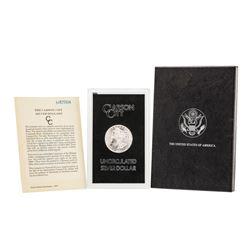 1884-CC $1 Morgan Silver Dollar Coin GSA