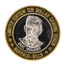.999 Silver Buffalo Bills Resort & Casino Jean, NV $10 Limited Edition Gaming To