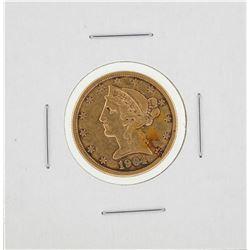 1904-S $5 Liberty Head Half Eagle Gold Coin
