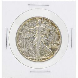 1917-S Walking Liberty Half Dollar Silver Coin Reverse