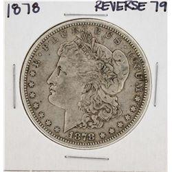 1878 7TF Reverse 79 $1 Morgan Silver Dollar Coin