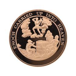Franklin Mint Thomason Medallic Bible Proof Bronze Medal