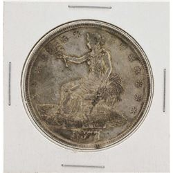 1877 $1 Trade Silver Dollar Coin