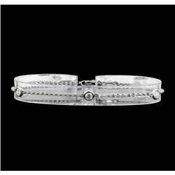 14KT White Gold 0.60ctw Diamond Bracelet