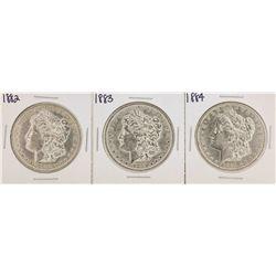 1882-1884 $1 Morgan Silver Dollar Coins