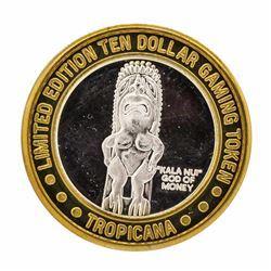 .999 Fine Silver Tropicana Las Vegas $10 Casino Limted Edition Gaming Token