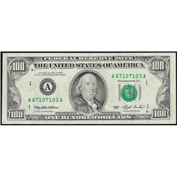 1993 $100 Federal Reserve Note