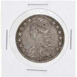 1825 Capped Bust Half Dollar Silver Coin