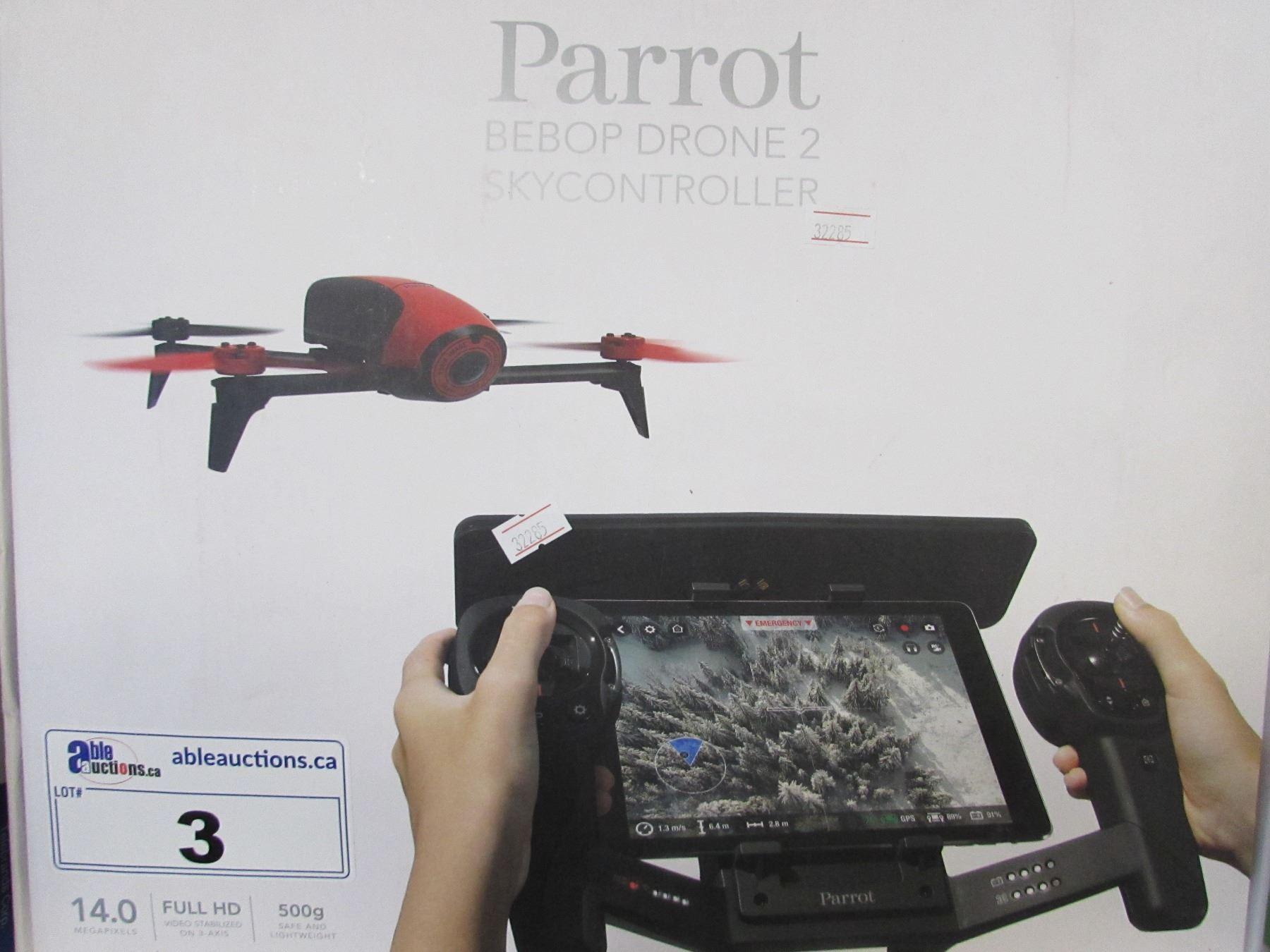 PARROT BEBOP HD DRONE 2 SKY CONTROLLER