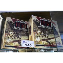 "PAIR OF STAR WARS RETURN OF THE JEDI ""BATTLE AT SARLACC'S PIT"" BOARD GAMES"