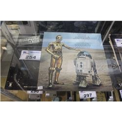 PAIR OF STAR WARS VINYL RECORDS